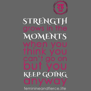 Strength Grows in the Moments F F