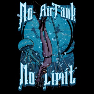 No Air Tank No Limit Freediving merchandise