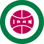 Retro round Iran badge