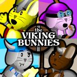 The Viking Bunnies Pop Art