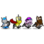 Running Bunnies