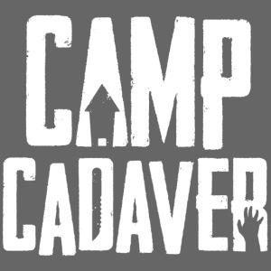 Camp Cadaver White Logo