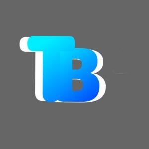 Trublu Overlapping letter Design