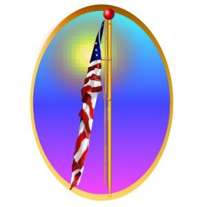 Star Bangled Banner-Oval