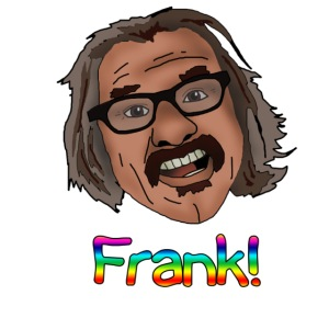 frank shirt rainbow letters png