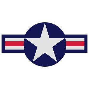 USAF Star - 3 Color Art