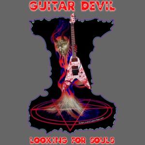 Guitar Devil Tee Copyright 2017 by Michael Groebel