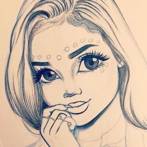 c7cae63168a24ef3c45fb8482aa467a3 drawing girls