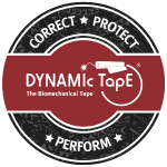Dynamic Tape Correct-Protect-Perform Red