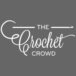 The Crochet Crowd Logo Wh