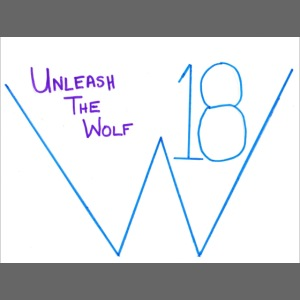 Wolfy 18 Unleash the Wolf t-shirt