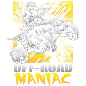 Maniac Riding ATV Quad