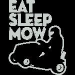 Eat Sleep Lawnmower Race