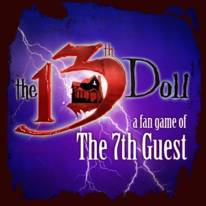The 13th Doll Logo With Lightning