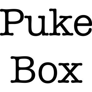 Puke Box Baby Shower Gift