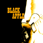 Black Apple Button