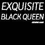 ExquisiteBlackQueenTee #7