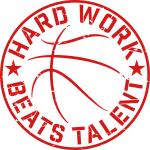 Hard Work Beats Talent Basketball
