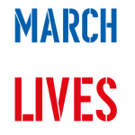 Red White and Blue March for Our Lives