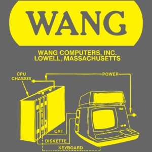 Wang Computers - Yellow