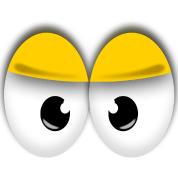Cute Yellow Angry Eyes