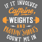Caffeine, Weights And Protein Shakes