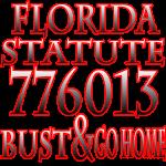 Florida Statute 776013