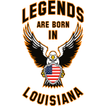 Legends are born in Louisiana