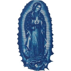 Our Lady of Guadalupe as worn by Axl Rose