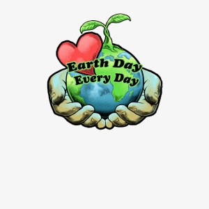 Earth Day Every Day Heart Love Shirt