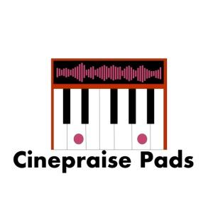 Cinepraise Pads Orange with Black Text