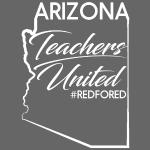 rouge pour ed arizona éducateurs enseignants unis grève drôle chemises cadeaux