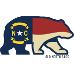 nc bear flag t-shirt design.png