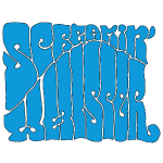Screamin' Whisper Retro Logo