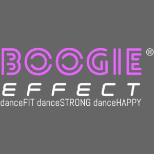 boogie effect fit strong happy logo colour
