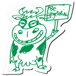 Cow - Be Vegetarian