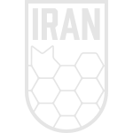 Geometric Iran Soccer Badge