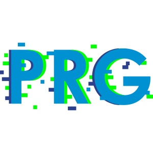 PRG distorted Neon libertarian Design