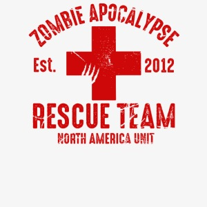 Zombie Rescue Halloween Shirt