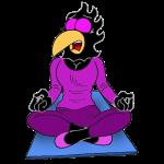 Smash Meditation pose