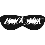 Black Mask 1950s logo 1