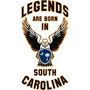 Legends are born in South Carolina