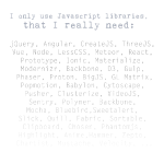 libraries_i_need