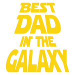 Best Dad In The Galaxy father's day t-shirt 2018