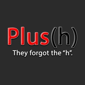 Plus(h) New logo with tag