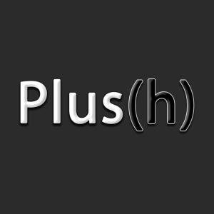 Plus(h) New logo WHT Larg
