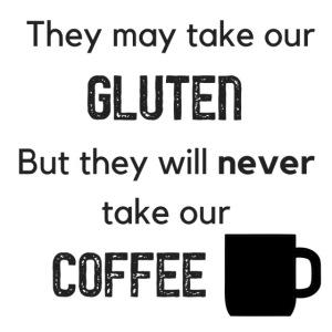 Gluten but not Coffee Block