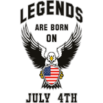 Legends are born on July 4th