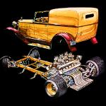 Hot rod body on frame