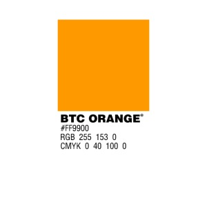 BTC Orange (Bitcoin Tshirt)